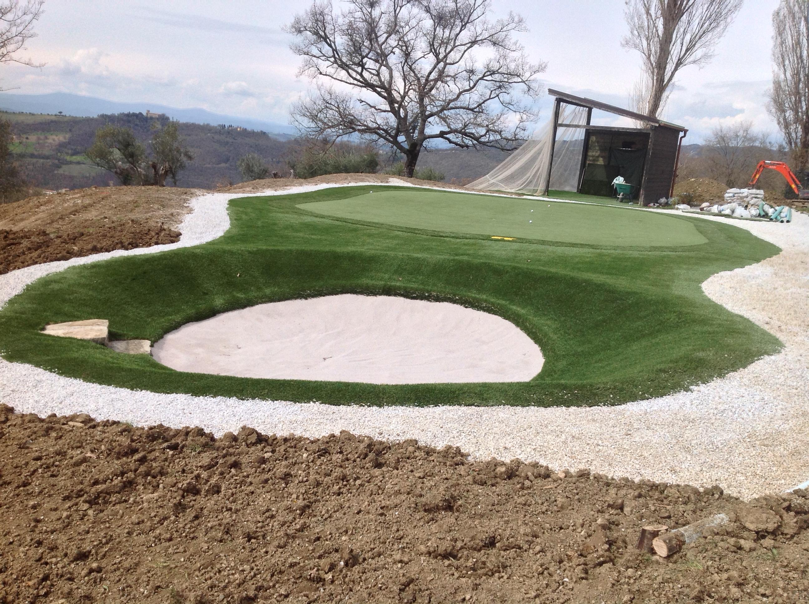 Progettazione giardino - campo da golf