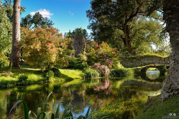 I 5 giardini pi belli d italia sopra il muro - Il giardino di ninfa ...